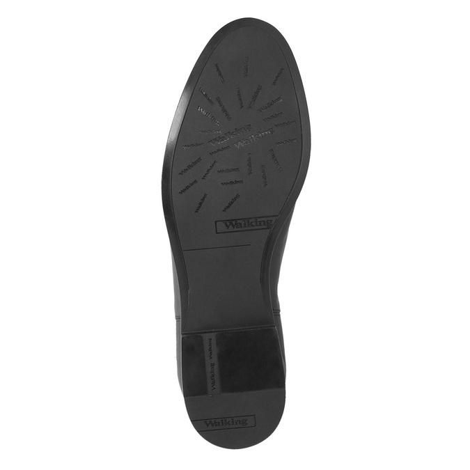 Knöchelschuhe aus Leder mit einer Schnalle bata, Schwarz, 594-6602 - 26