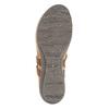 Damensandalen aus Leder weinbrenner, Braun, 566-4101 - 26