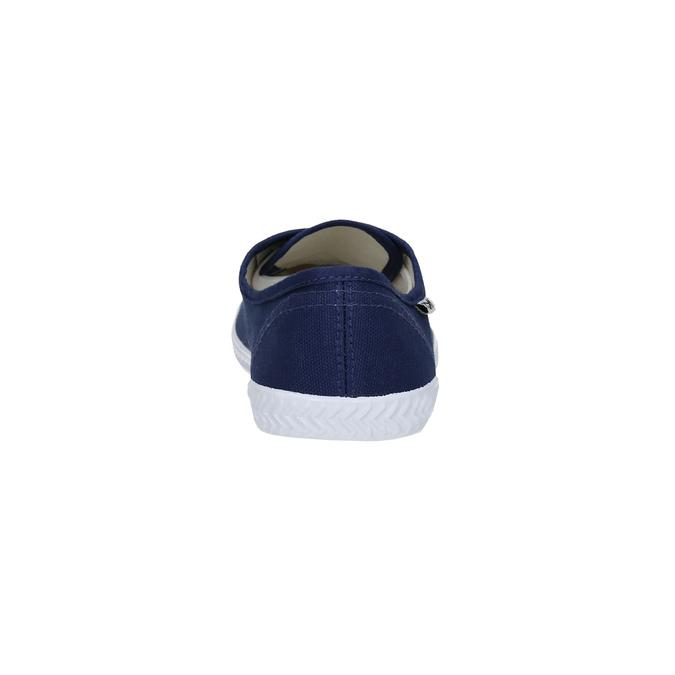 Blaue Textil-Sneakers tomy-takkies, Blau, 519-9691 - 17