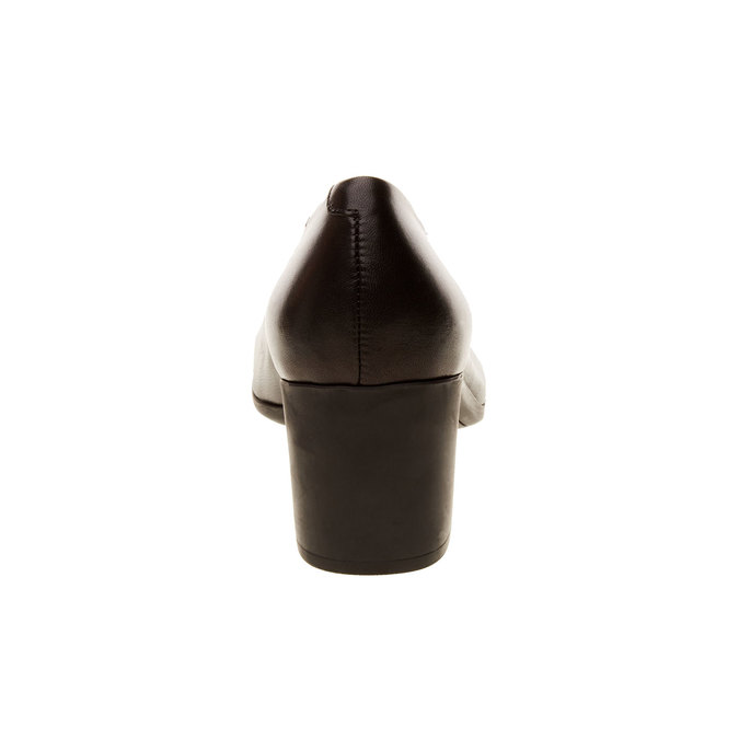 Lederpumps flexible, Schwarz, 624-6706 - 17