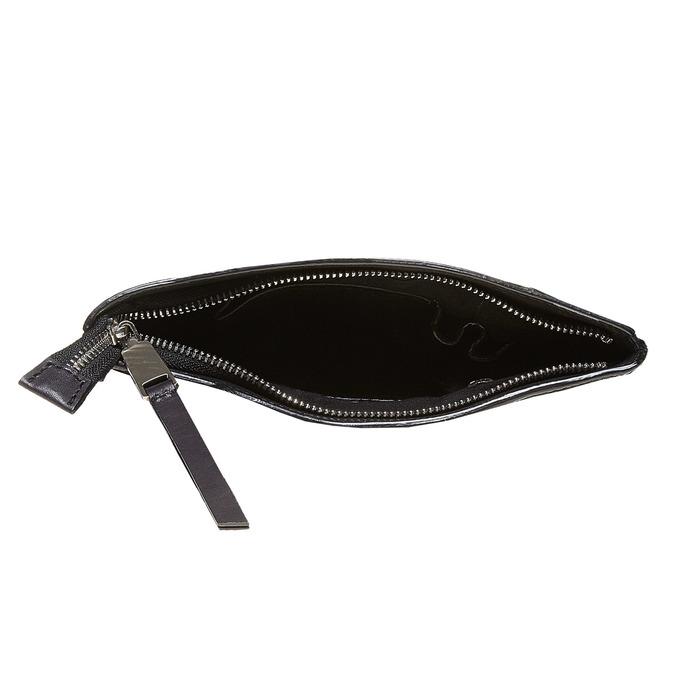 Crossbody-Tasche aus Leder bata, Schwarz, 964-6131 - 15