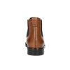 Damen-Chelsea-Boots aus Leder bata, Braun, 594-3902 - 17