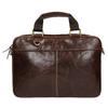 Braune Herrentasche aus Leder bata, Braun, 964-4204 - 19
