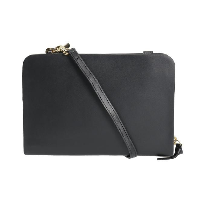 Schwarze Crossbody-Handtasche aus Leder royal-republiq, Schwarz, 964-6017 - 19