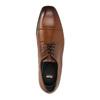 Herren-Halbschuhe aus Leder im Derby-Stil, Braun, 826-4736 - 19