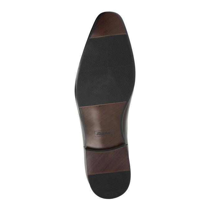 Herren-Knöchelschuhe aus Leder bata, Braun, 896-4655 - 26