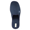 Herren-Hausschuhe mit voller Spitze bata, Blau, 879-9605 - 19