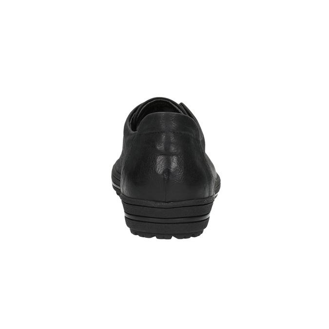 Damen-Sneakers aus Leder bata, Schwarz, 524-6349 - 17