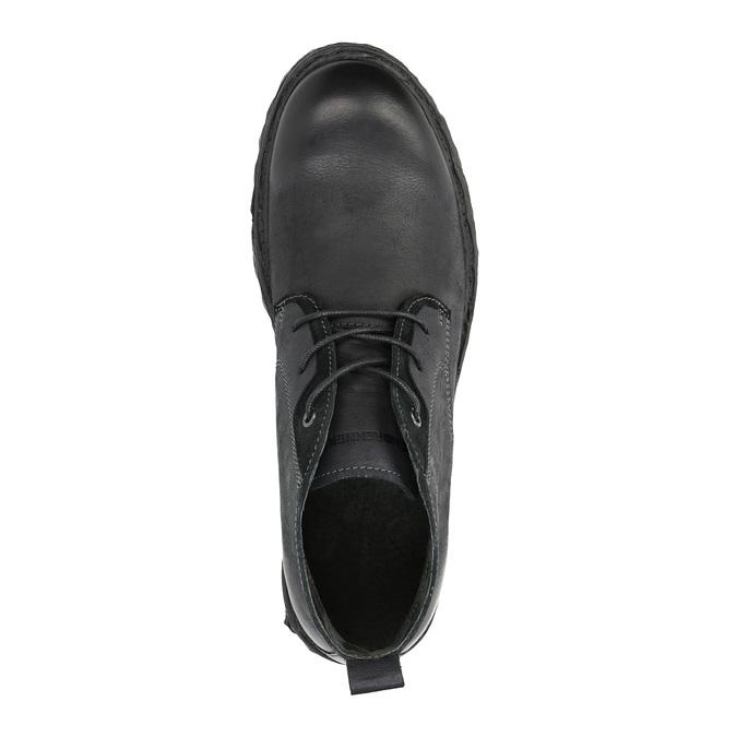 Knöchelschuhe aus Leder weinbrenner, Schwarz, 844-6603 - 19