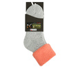 Thermosocken für Damen, Grau, Orange, 919-5380 - 13