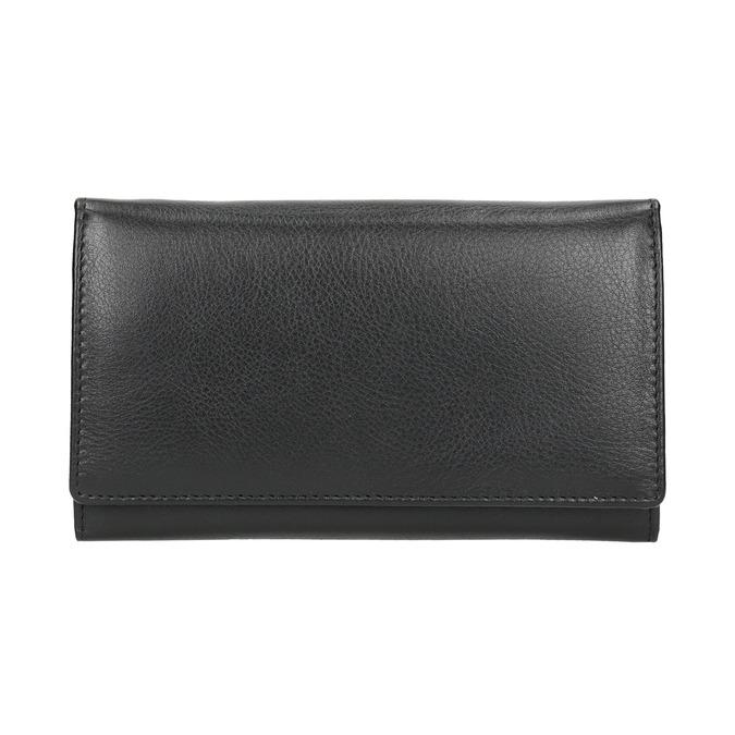 Damen-Geldbörse aus Leder bata, Schwarz, 944-6357 - 26
