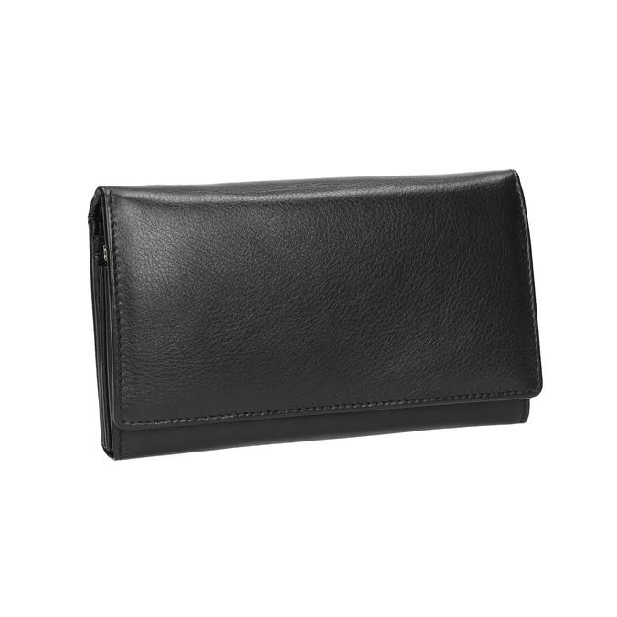 Damen-Geldbörse aus Leder bata, Schwarz, 944-6357 - 13