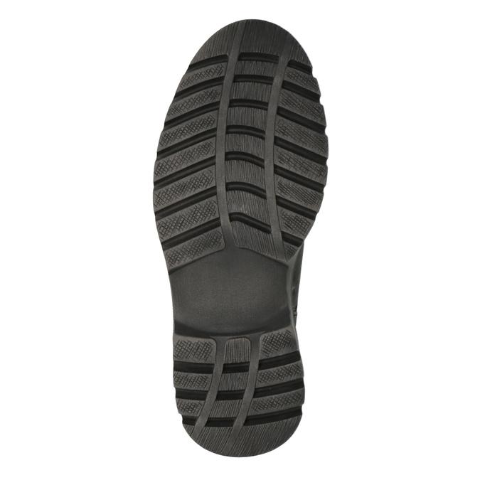 Herren-Knöchelschuhe aus Leder weinbrenner, Grau, 896-2107 - 26