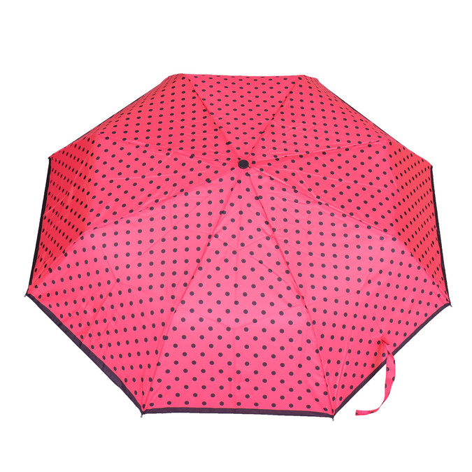 Taschenschirm mit Pünktchen bata, Rosa, 909-5601 - 26