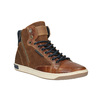 Knöchelhohe Sneakers aus Leder mit Reißverschluss bata, Braun, 844-3632 - 13