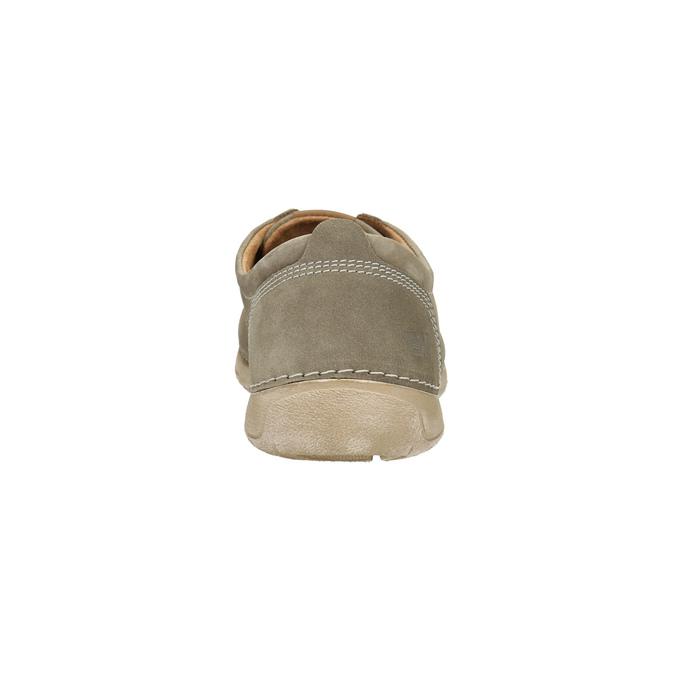 Legere Lederhalbschuhe weinbrenner, Beige, 846-8631 - 17