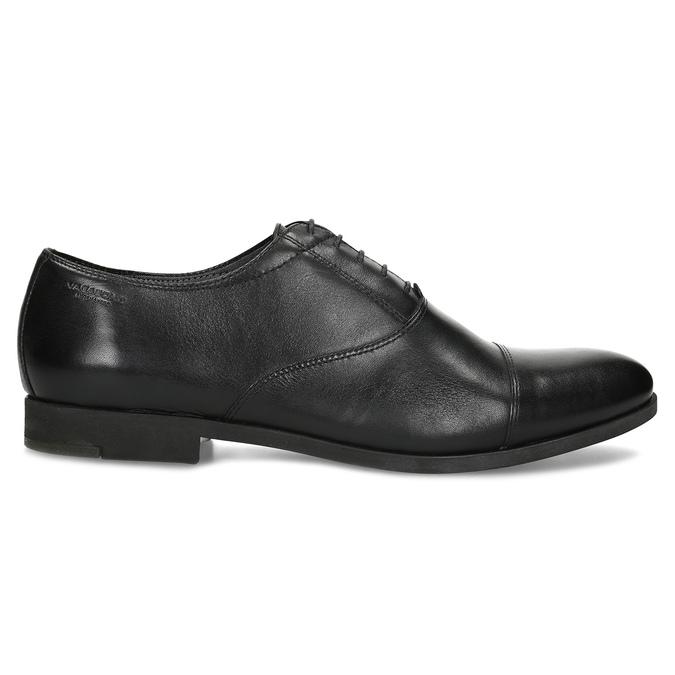 Schwarze Lederhalbschuhe im Oxford-Stil vagabond, Schwarz, 824-6048 - 19