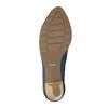 Lederpumps bata, Blau, 626-9639 - 26