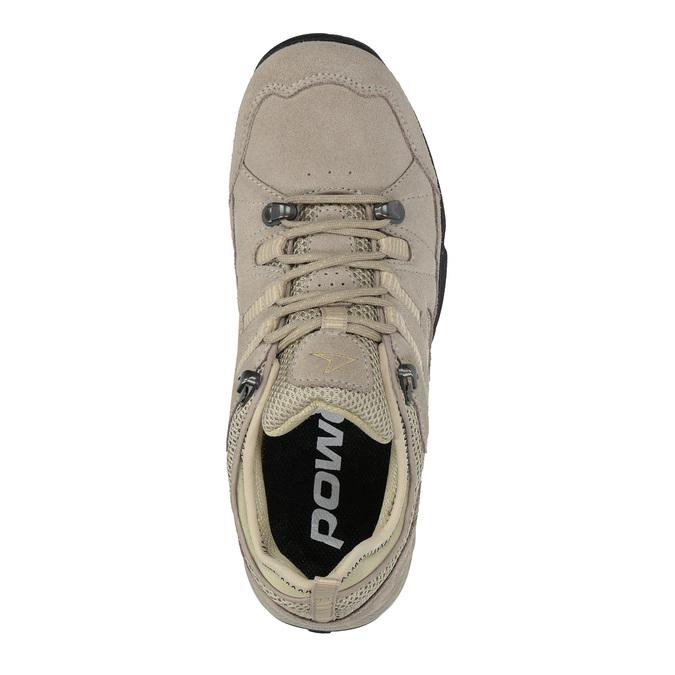 Damen-Outdoor-Schuhe aus Leder power, Braun, 503-3118 - 19