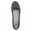 Lederpumps der Weite H bata, Blau, 623-9602 - 19