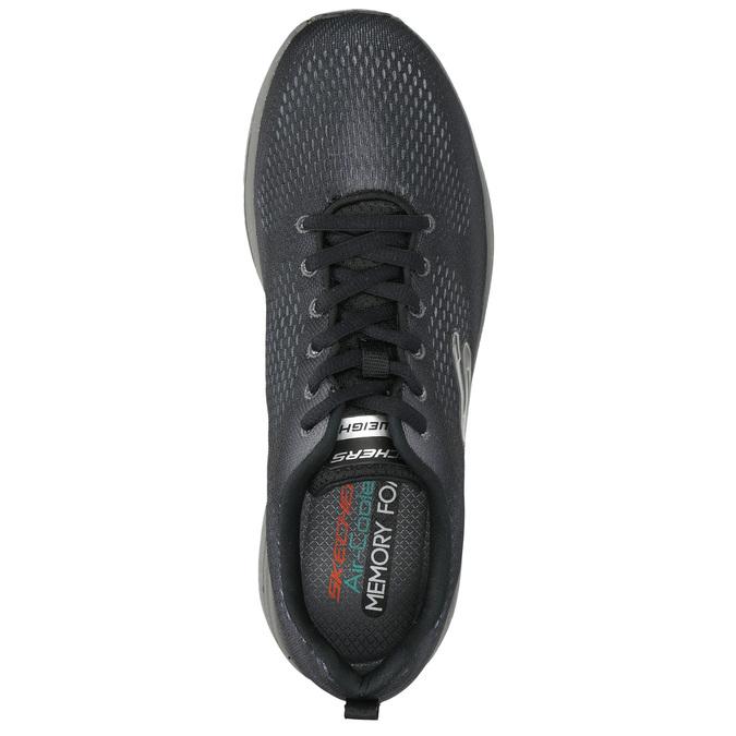 Herren-Sneakers mit Memory-Schaum skechers, Grau, 809-2141 - 19