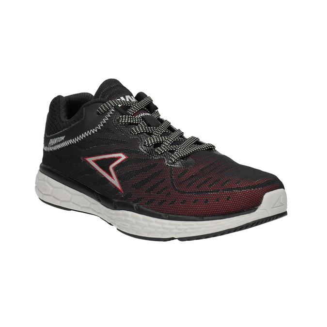 Herren-Sneakers mit Muster power, Schwarz, 809-6155 - 13