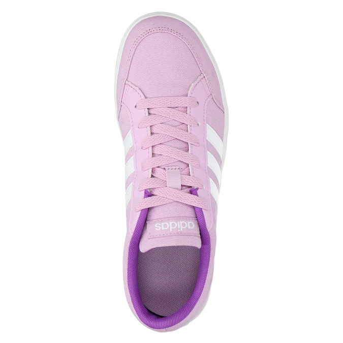 Lila Mädchen-Sneakers adidas, Violett, 489-9119 - 19
