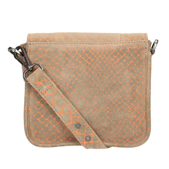 Crossbody-Damenhandtasche aus Leder fredsbruder, Braun, 963-8032 - 26