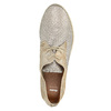 Damenhalbschuhe aus Leder bata, Beige, 526-8629 - 19