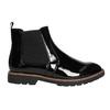 Chelsea Boots in Lackausführung mit markanter Sohle. bata, Schwarz, 591-6603 - 15