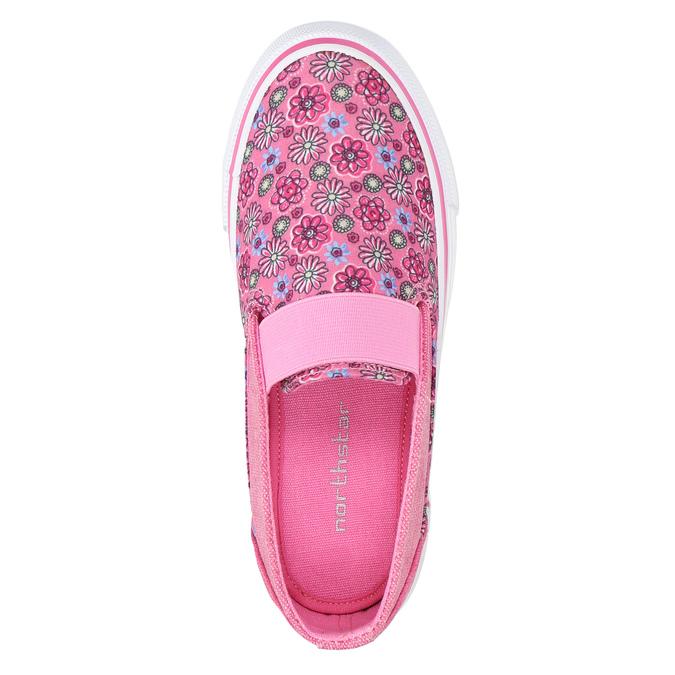 Gemusterte Mädchen-Slip-Ons mini-b, Rosa, 329-5611 - 19