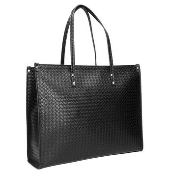Handtasche mit geflochtenem Muster marie-claire, Schwarz, 961-6540 - 13