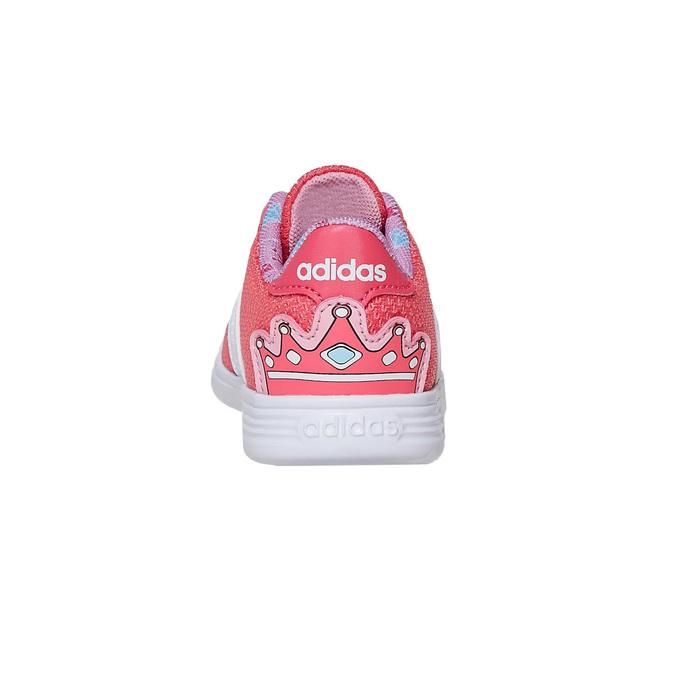 Rosa Mädchen-Sneakers adidas, Rosa, 109-5288 - 17