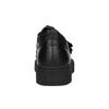 Schwarze Leder-Sneakers mit Klettverschlüssen bata, Schwarz, 526-6646 - 16