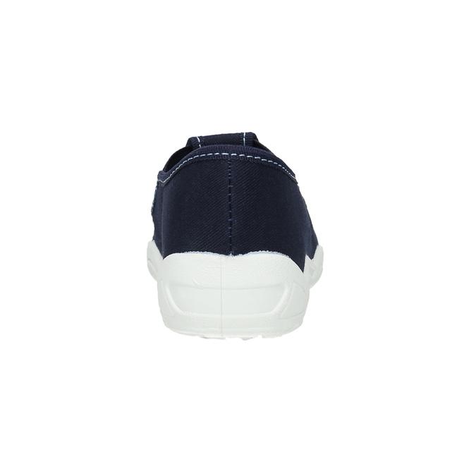 Kinderpantoffeln mit Hai-Motiv mini-b, Blau, 379-9213 - 17