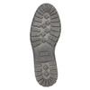 Herrenhalbschuhe aus Leder bata, Braun, 826-4619 - 26