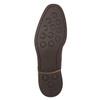 Braune Herrenhalbschuhe aus Leder bata, Braun, 826-4681 - 19