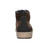 Knöchelhohe Herren-Sneakers bata, Braun, 846-4651 - 17