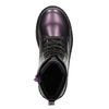 Kinderschuhe im Metallic-Look mini-b, Violett, 321-9612 - 19