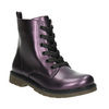 Kinderschuhe im Metallic-Look mini-b, Violett, 321-9612 - 13