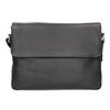 Schwarze Crossbody-Tasche aus Leder bugatti-bags, Schwarz, 964-6011 - 26