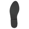 Knöchelschuhe aus Leder mit silberner Umrandung bata, Schwarz, 593-6603 - 19