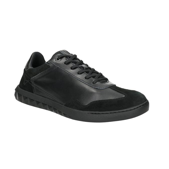 Herren-Sneakers aus Leder diesel, Schwarz, 804-6626 - 13