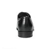 Schwarze Lederhalbschuhe bata, Schwarz, 824-6600 - 17