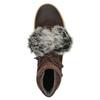 Stiefeletten aus Leder weinbrenner, Braun, 596-4674 - 15
