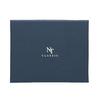 Set, bestehend aus Krawatte und Einstecktuch mit Muster bata, Blau, 999-9296 - 16