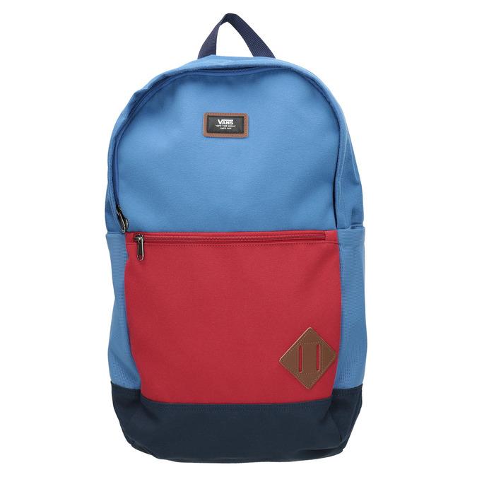 Blauer Rucksack mit roter Tasche vans, Blau, 969-9095 - 26