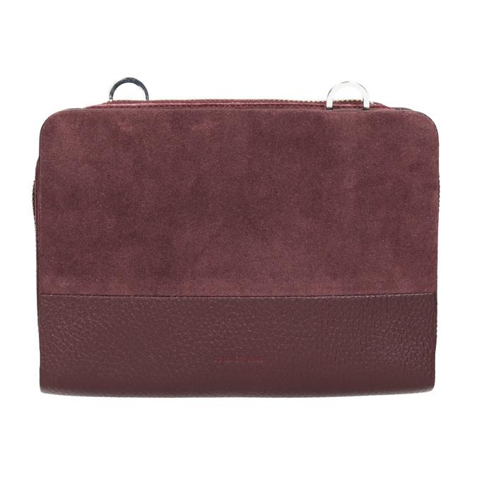 Rote Crossbody-Handtasche aus Leder royal-republiq, Rot, 963-5050 - 26