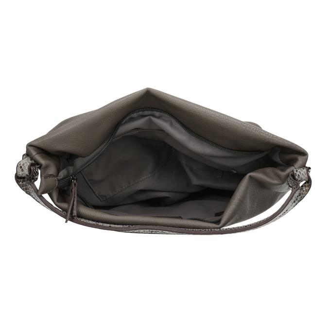 Damen-Hobo-Handtasche aus Leder mit Gurt gabor-bags, Gelb, 961-8029 - 15