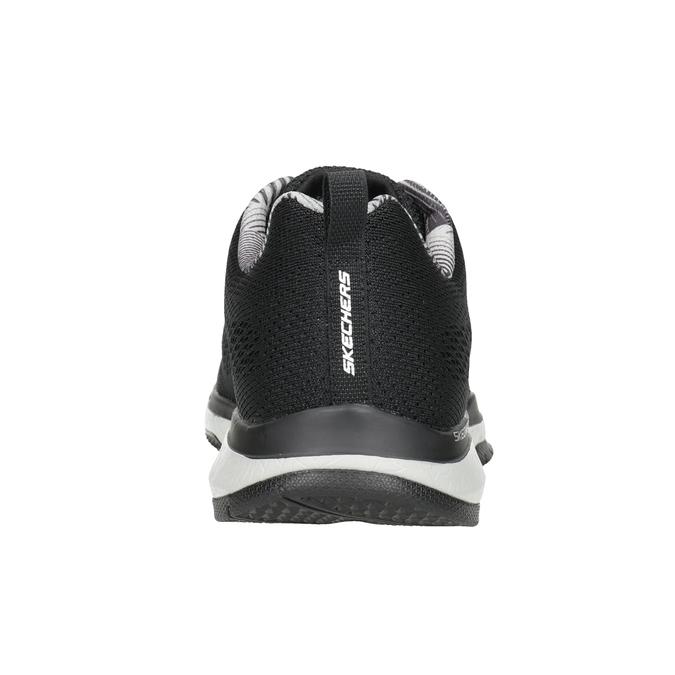 Schwarze Herren-Sneakers skechers, Schwarz, 809-6330 - 16